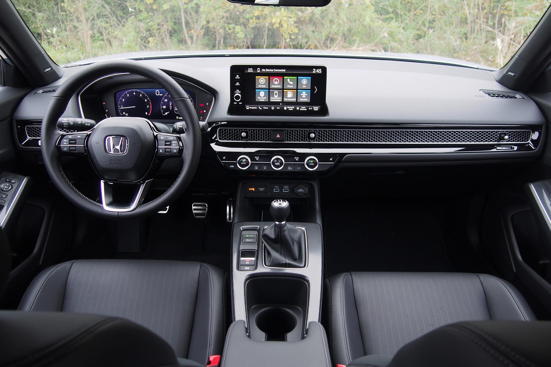 2022 Honda Civic Hatchback Sport Touring - interior