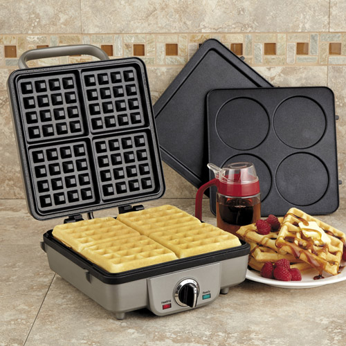Any way you add it up, the Cuisinart WAF-300 Breakfast Central Waffle & Pancake Maker is syrup's best friend.
