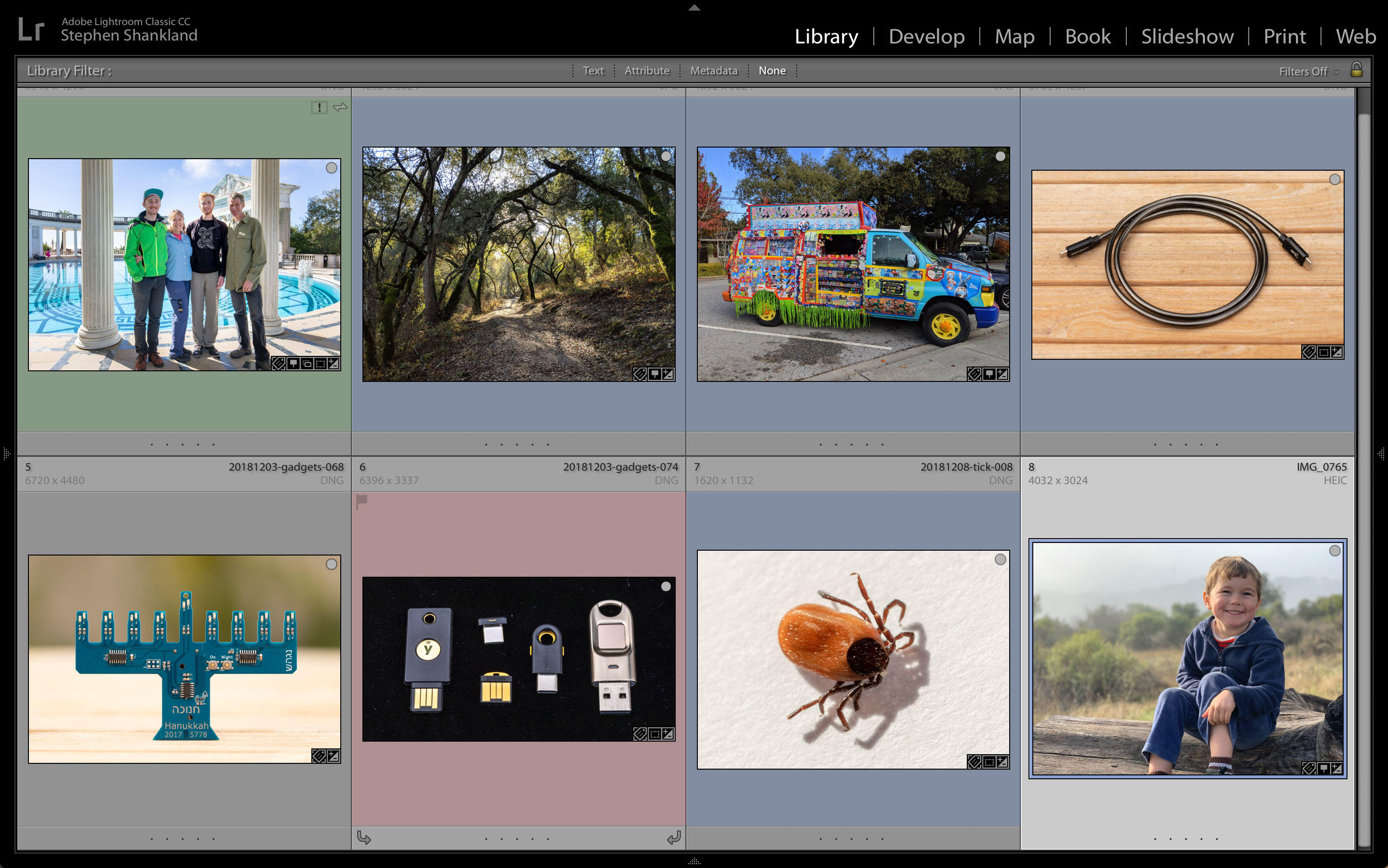 October's Lightroom Classic CC update added more sophisticated editing of color hue, saturation and tonality.