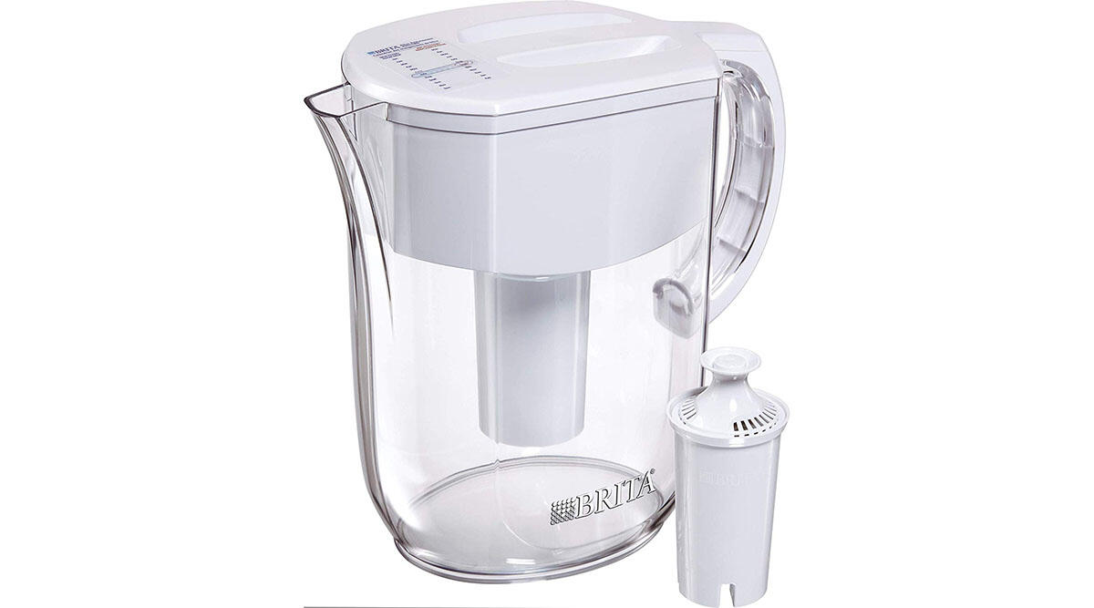A Brita pitcher so you won't even need bottled water ($27)