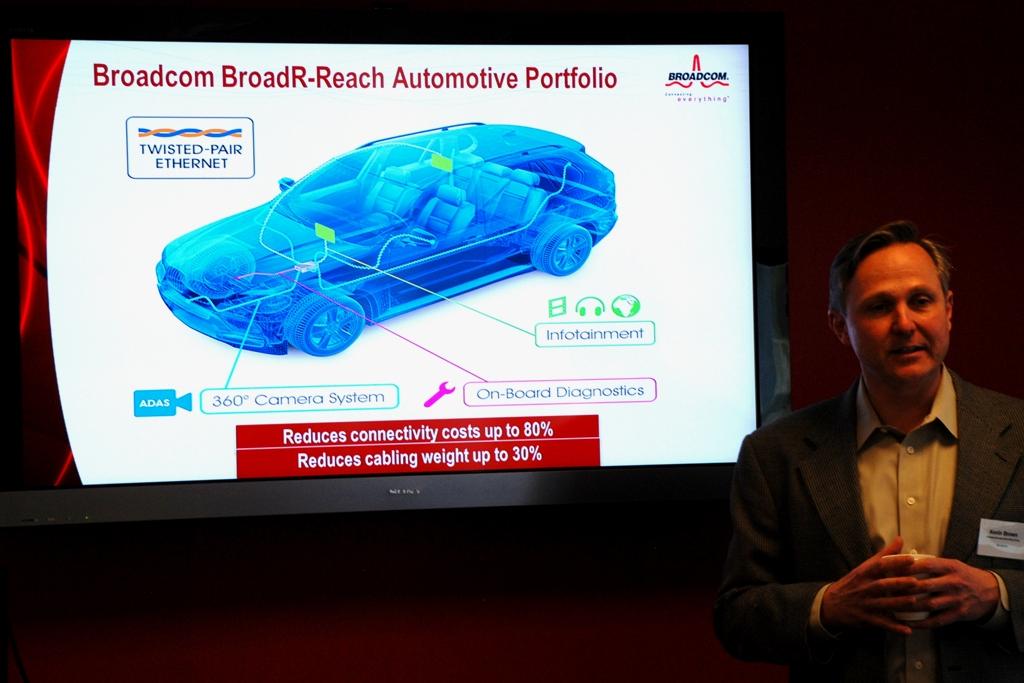 At CES 2012, for the first time, you'll see how Ethernet is implemented in cars.