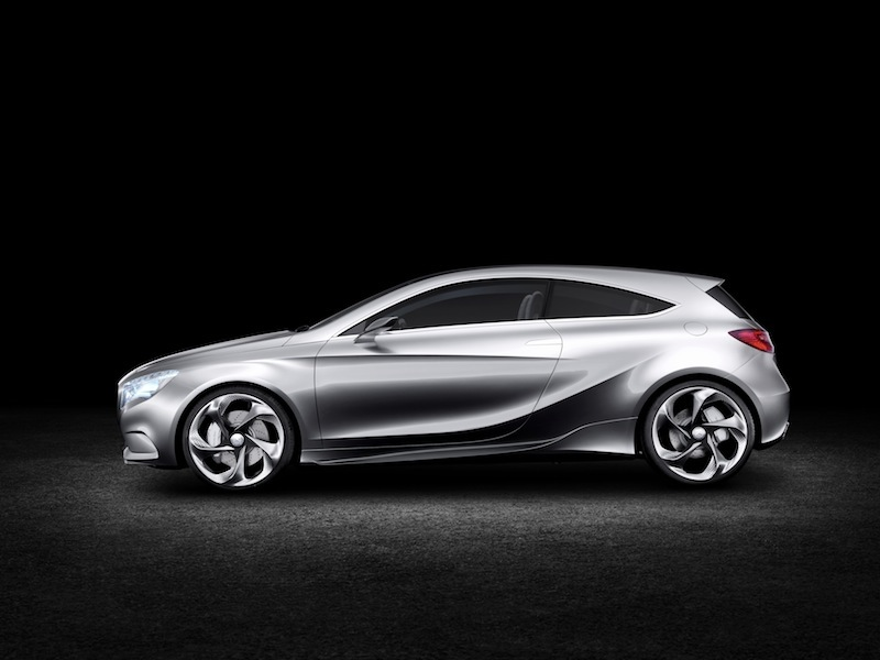 Mercedes will show its concept for the next-generation A-Class vehicle at the 2011 New York International Auto Show.