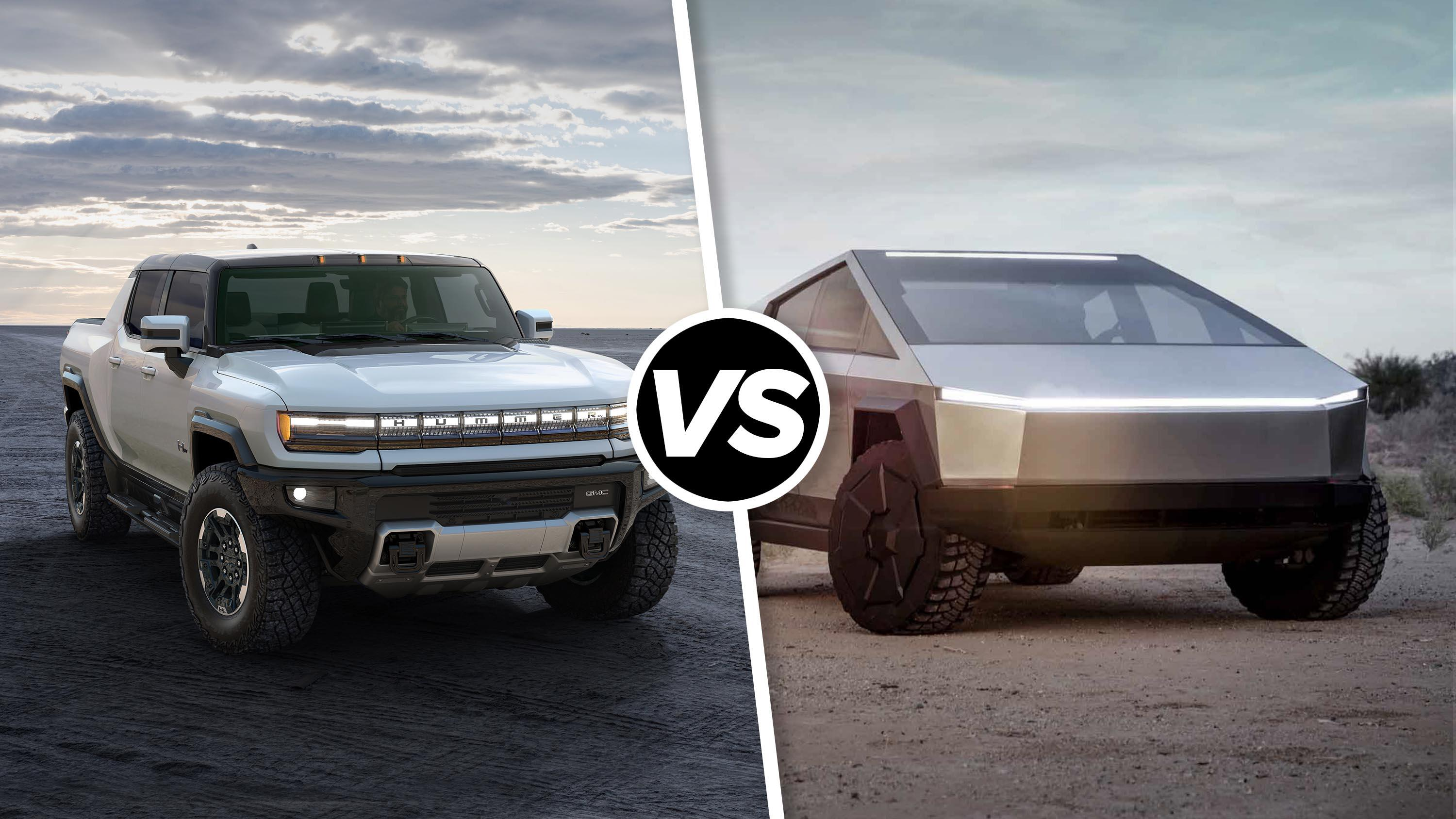 Video: GMC Hummer EV vs. Tesla Cybertruck: Which all-electric pickup reigns supreme?