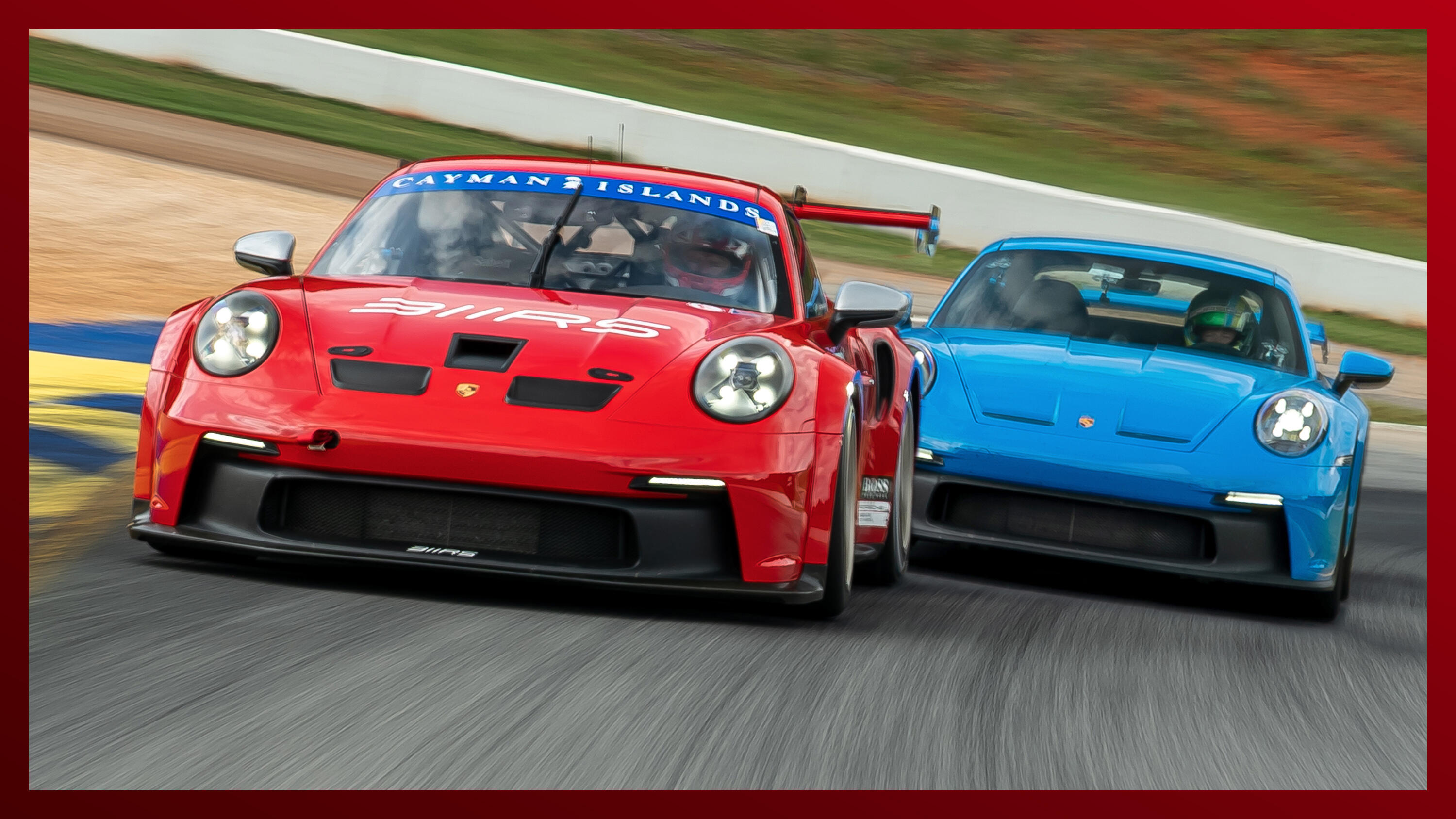 Video: 2022 Porsche 911 GT3 and GT3 Cup hit the track at Road Atlanta
