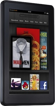 Amazon Kindle Fire sales are strong.