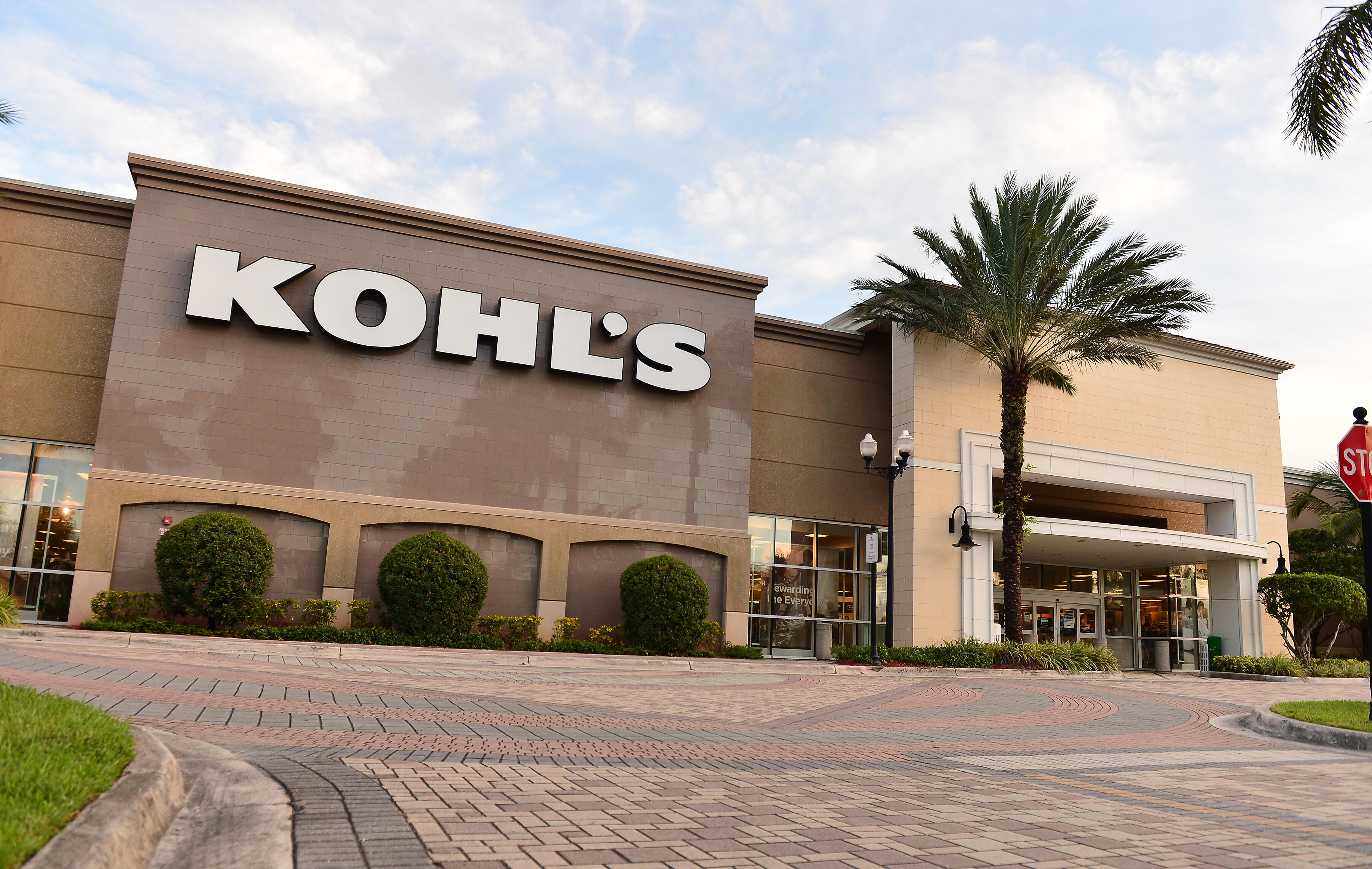 A view outside a Kohl's store on July 16, 2020, in Florida.