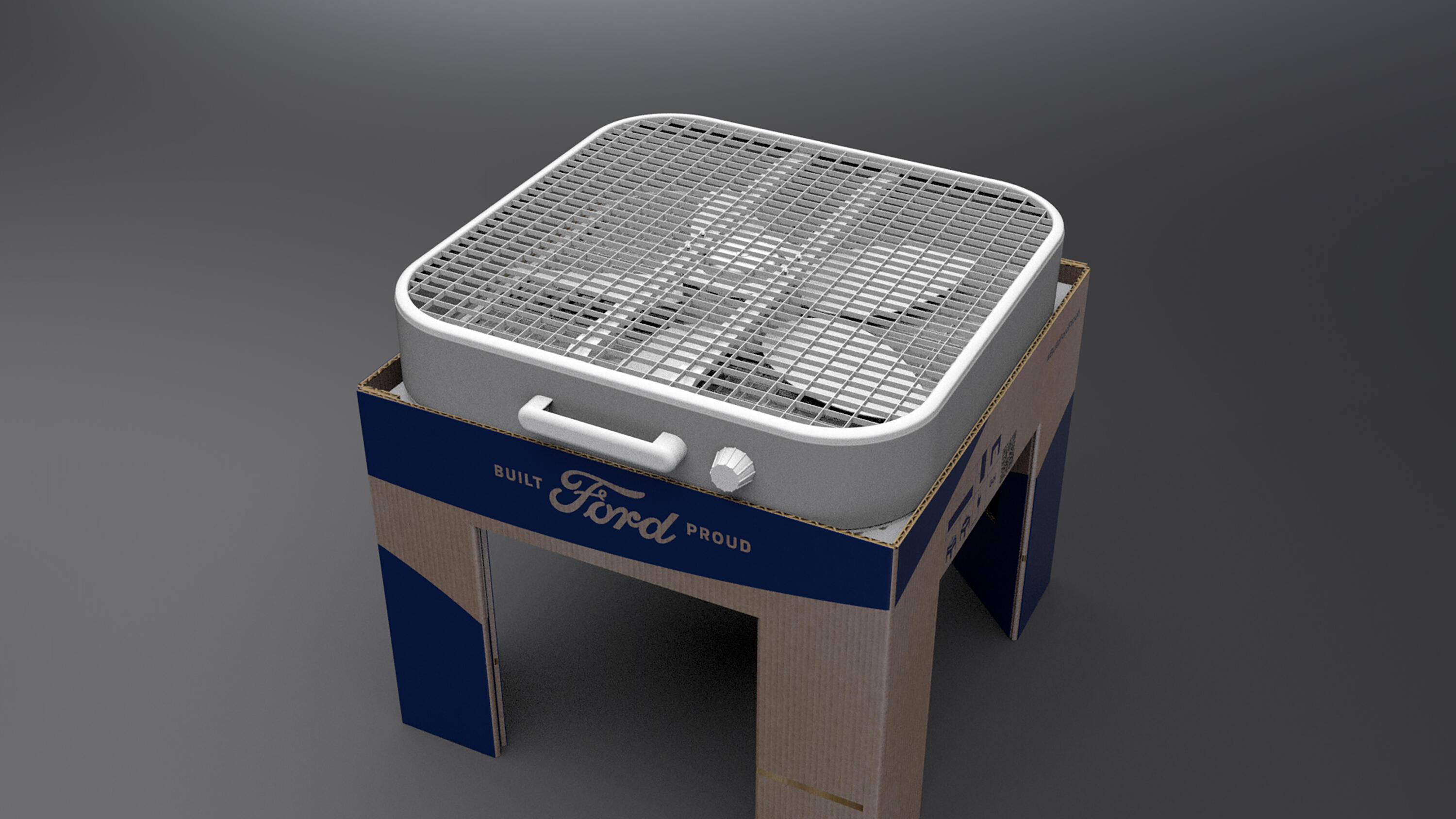 Ford COVID-19 filtration kit