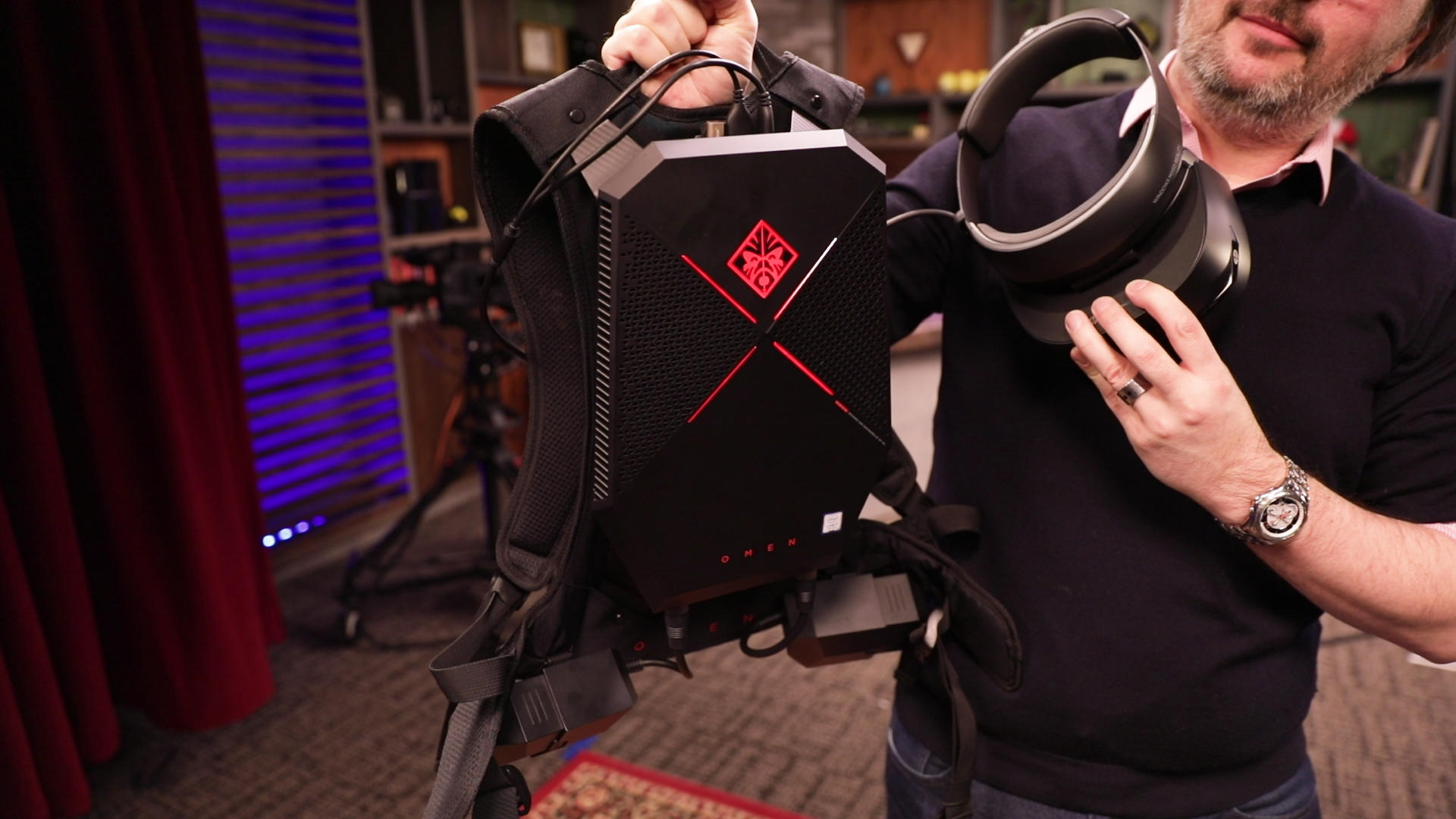 Video: Cut the cables with HP's battery-powered VR backpack