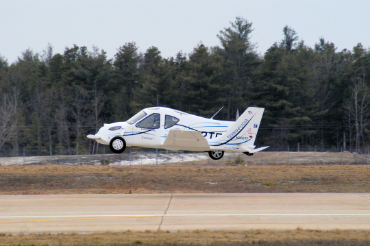 Be the first on your block to get the Terrafugia 'flying car.'