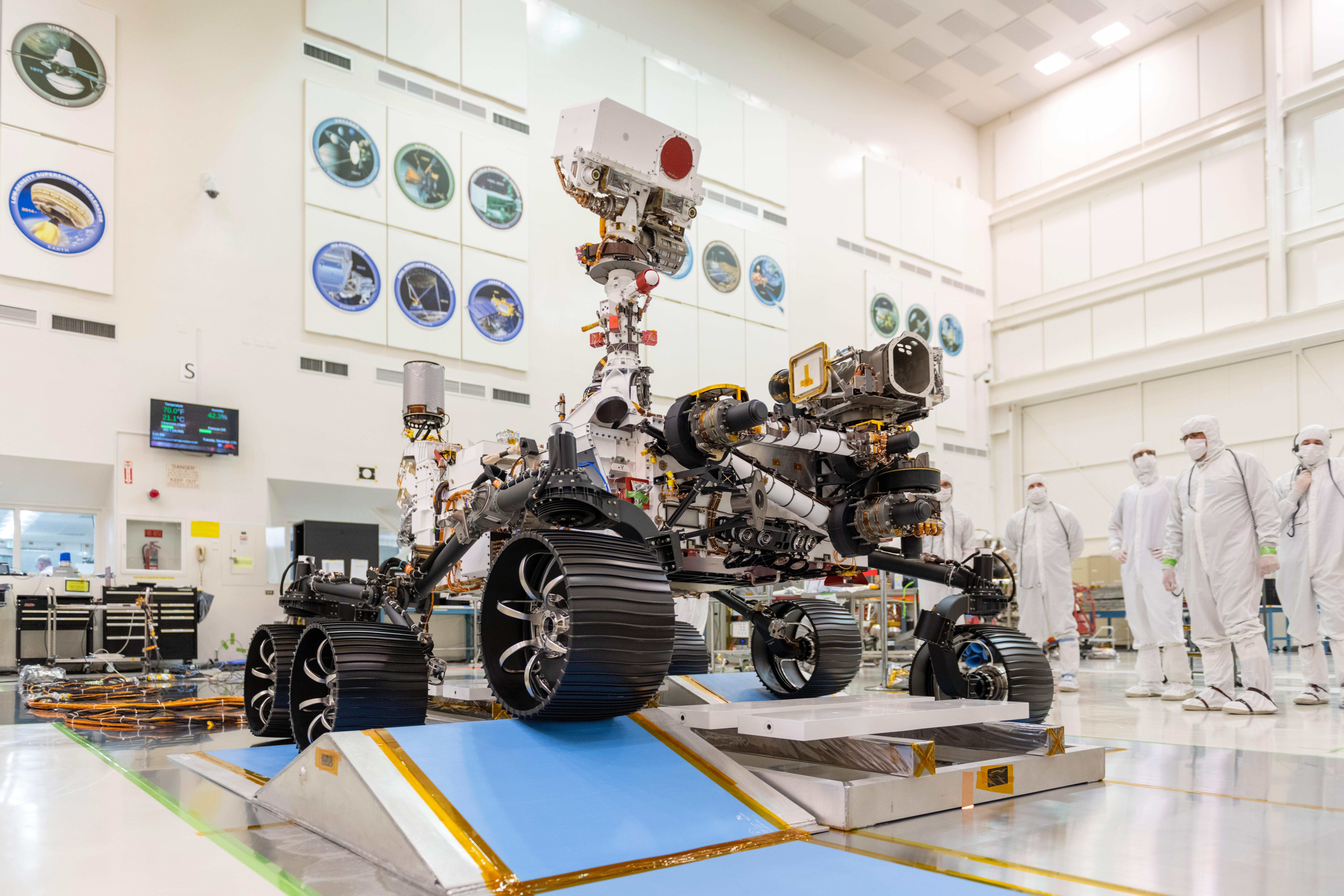 Mars 2020 becomes Perseverance
