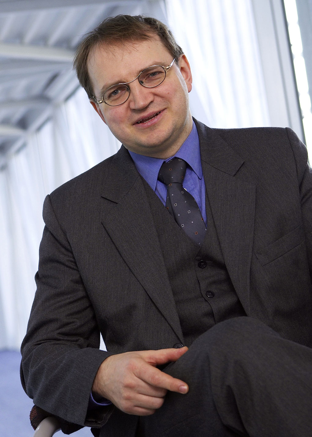 Bernhard Grill, leader of Fraunhofer Institute's audio and multimedia division and a creator of the MP3 and AAC audio compression formats.