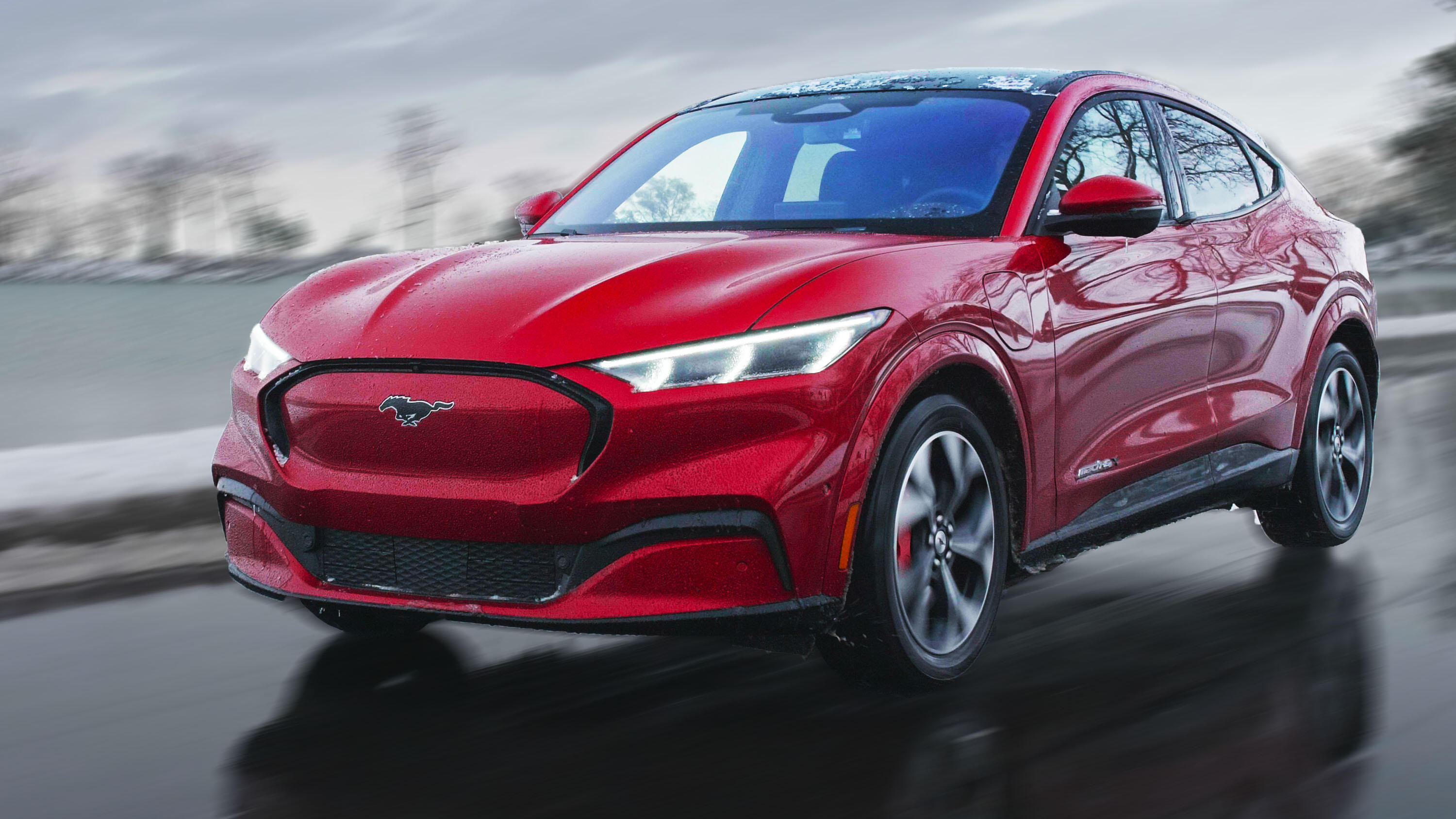 Video: 2021 Ford Mustang Mach-E: Not yet a good Mustang, but a very good EV