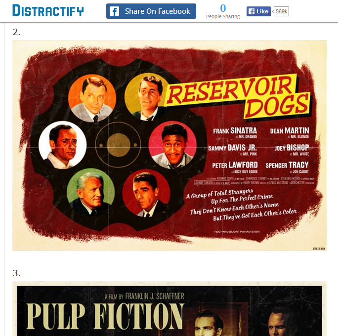 Distractify's make-believe movie posters