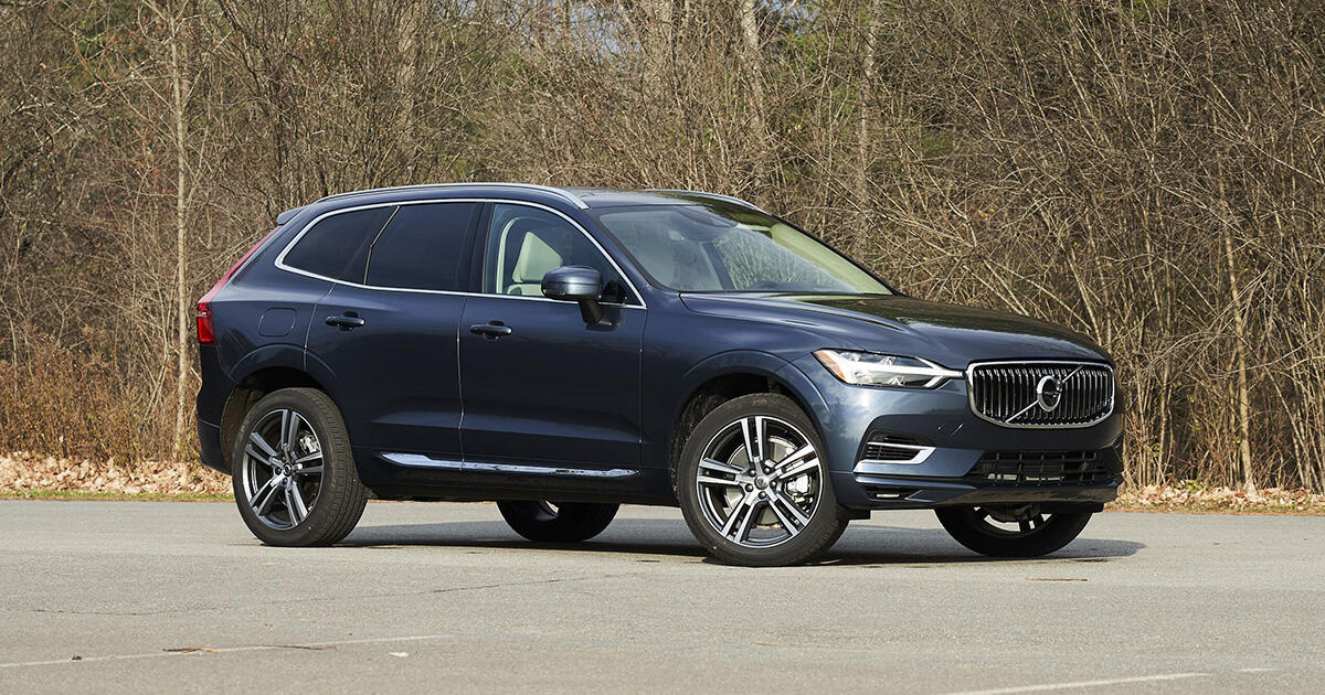 2021 Volvo Xc60 T8 Recharge Long Term Introduction Posh With A Plug Roadshow