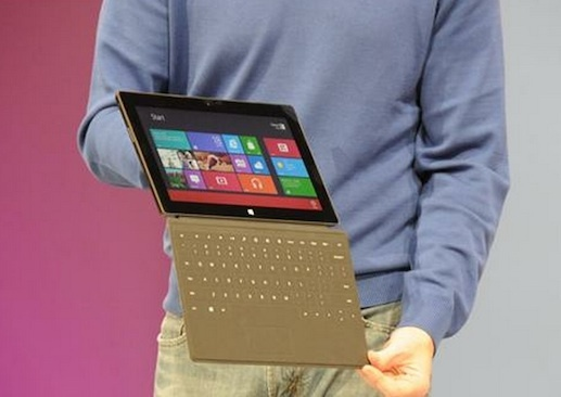 Microsoft Surface tablet packing an Nvidia ARM chip.