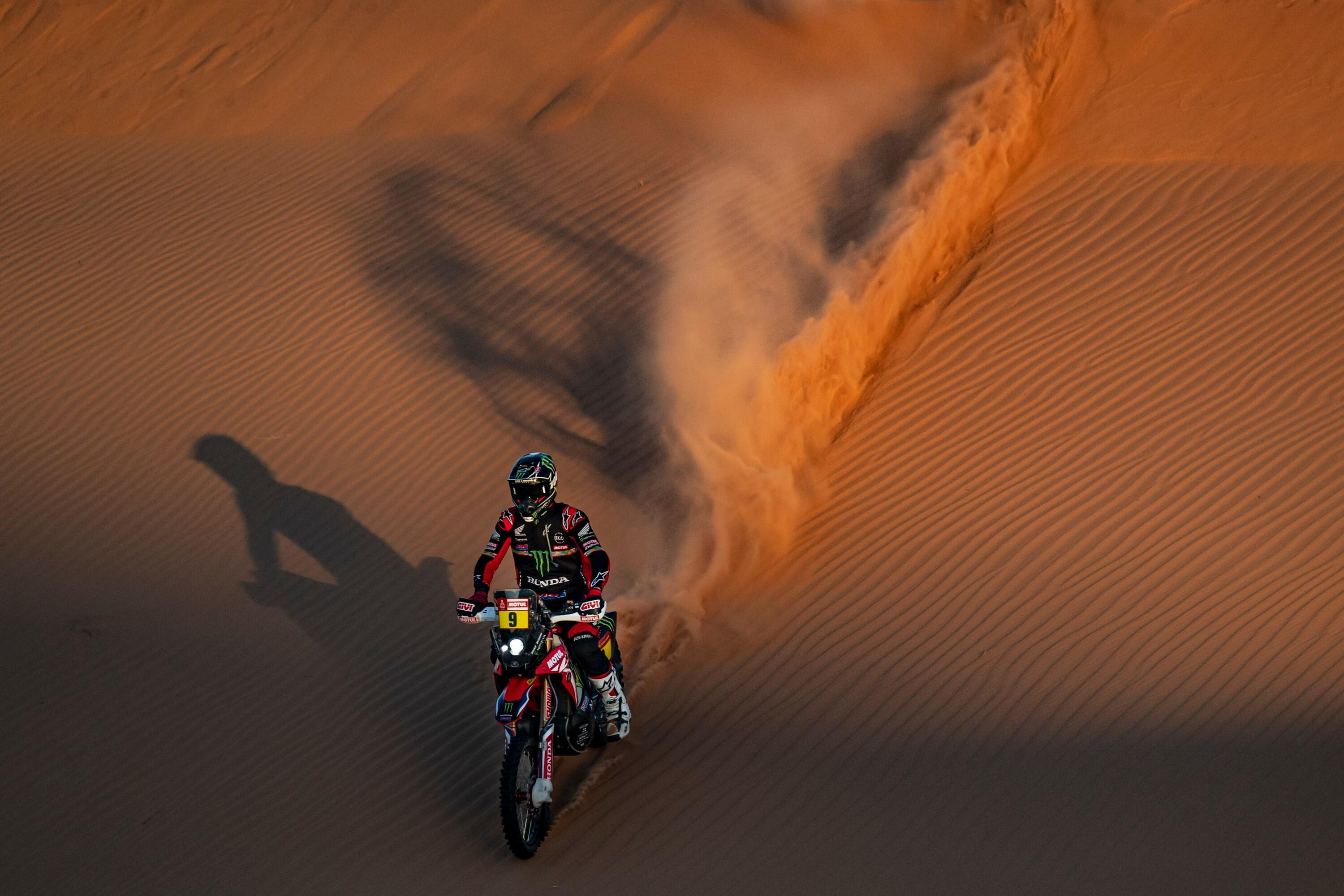 Ricky Brabec and the Honda Motorsports CRF450 Rally