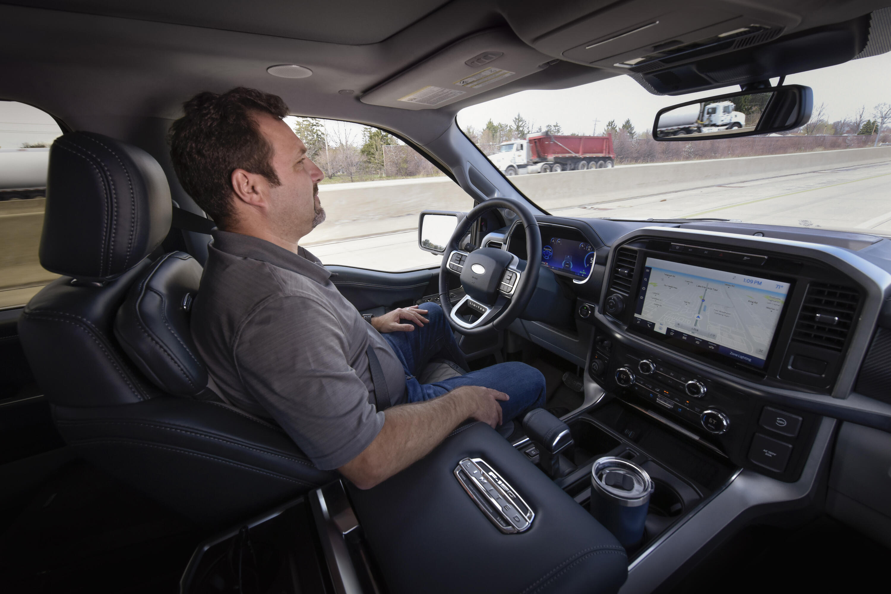 Ford BlueCruise - hands-free driving