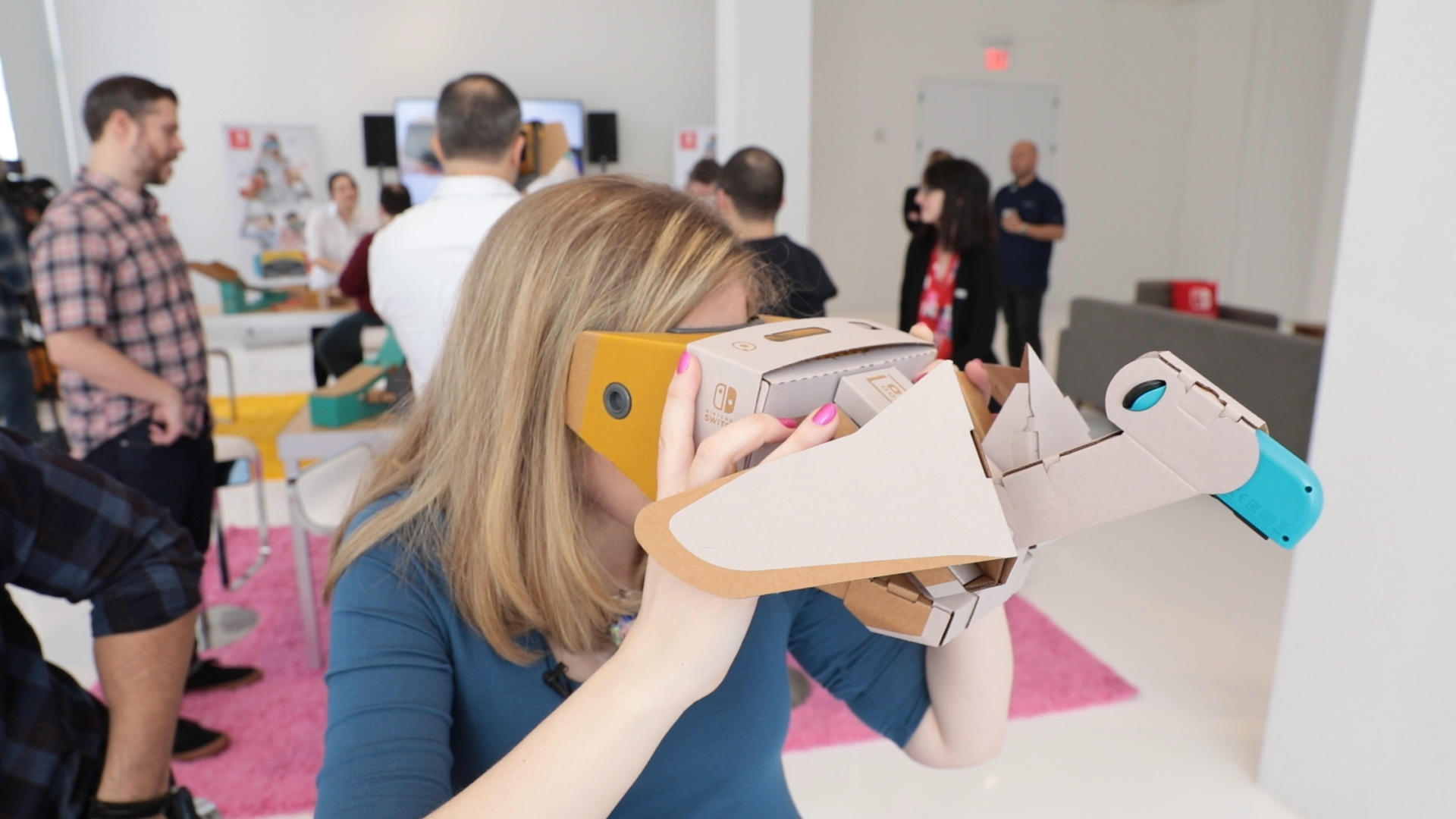 Video: Nintendo Labo VR hands-on: This virtual reality gets weird