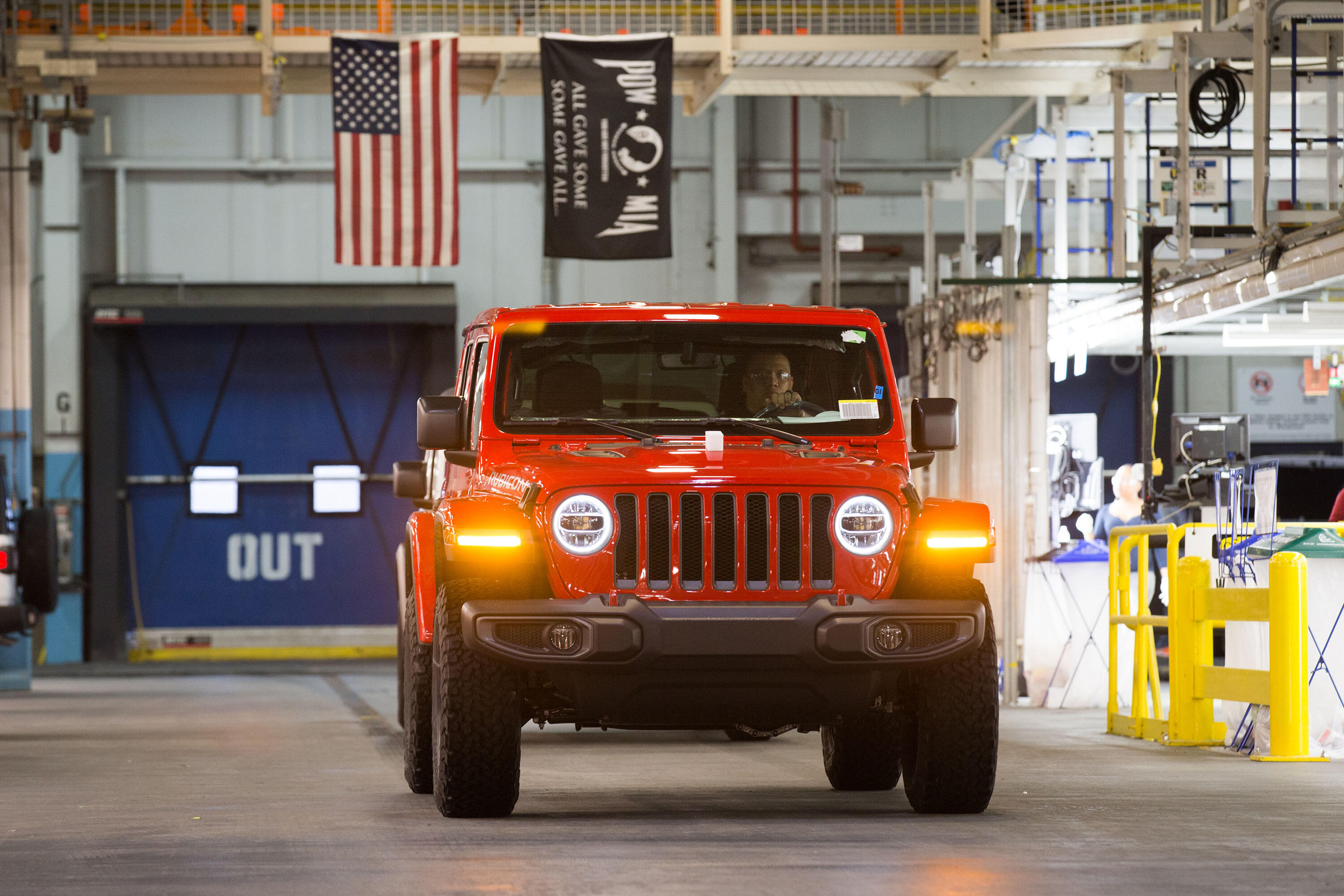 Jeep Wrangler production