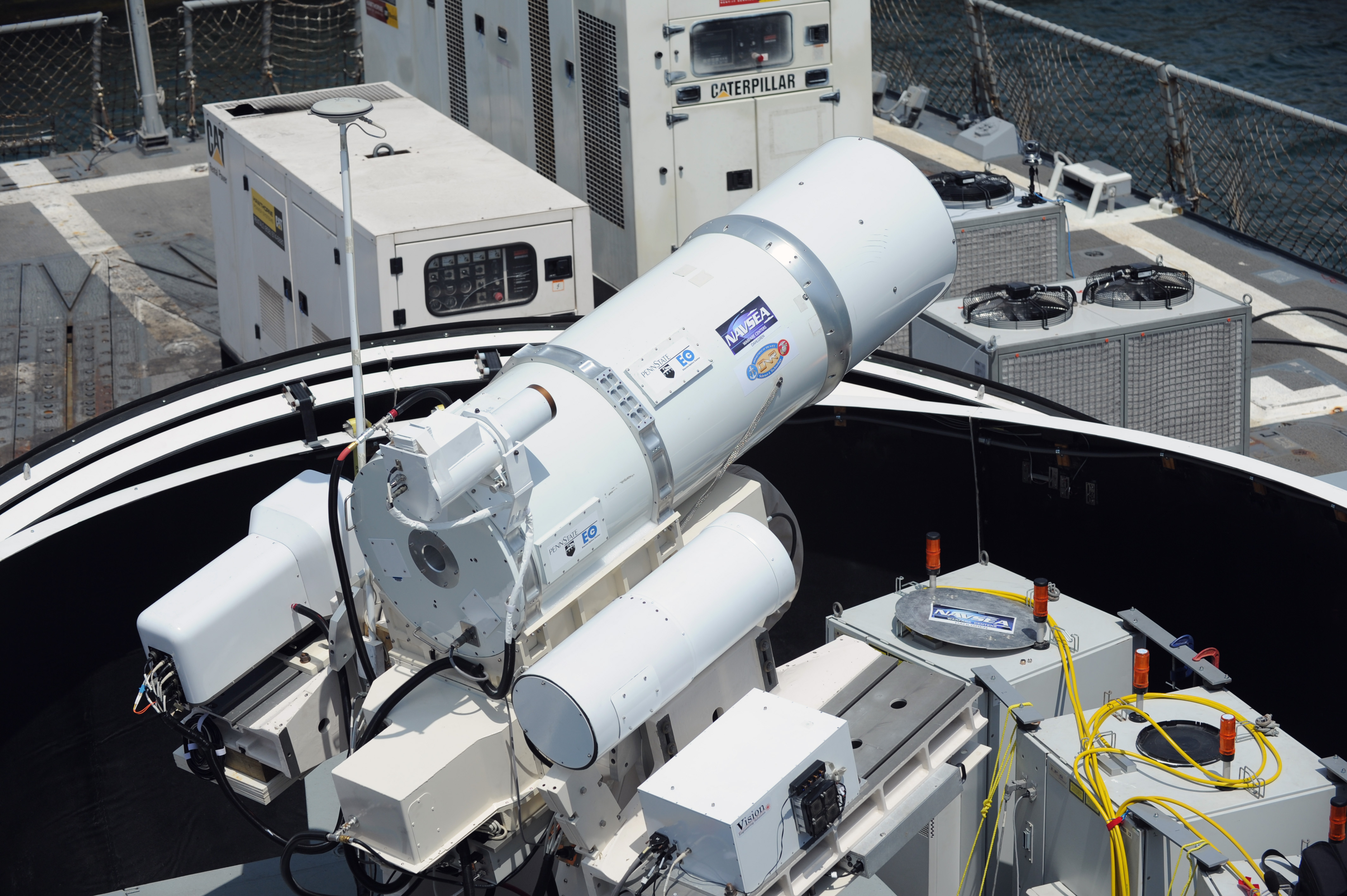 Navy LaWS laser weapon system
