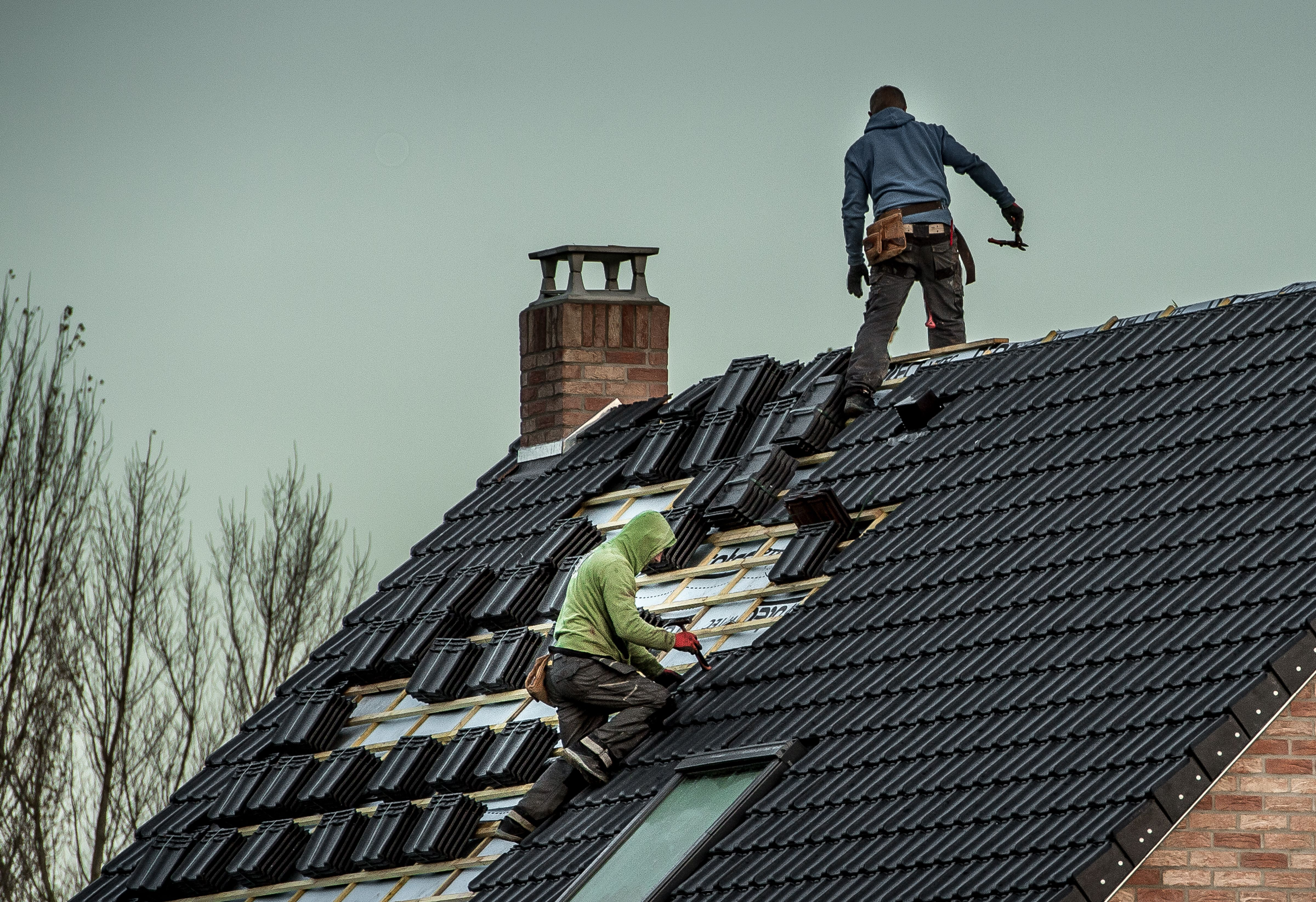 4. Roofers