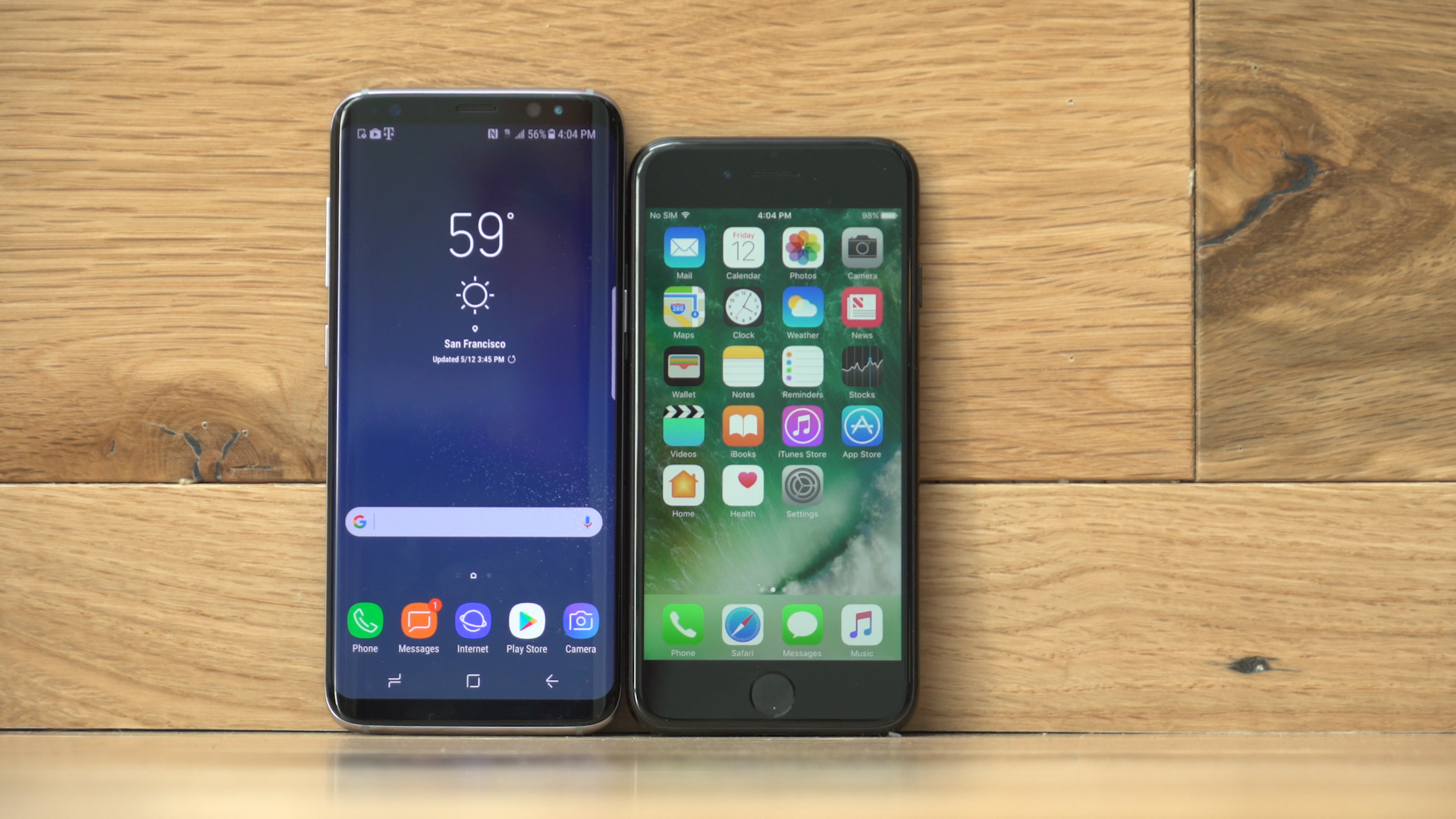 Video: Samsung Galaxy S8 vs. Apple iPhone 7