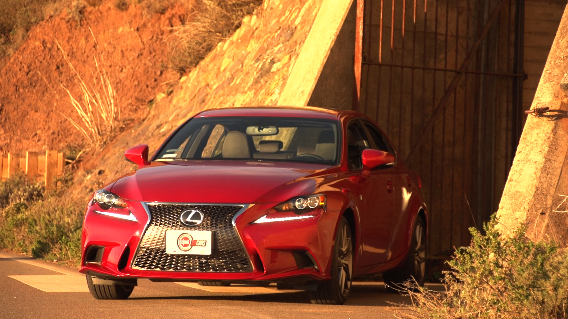 Video: Lexus IS350 F Sport: Does it measure up to the Germans -- or even need to? (CNET On Cars, Episode 29)