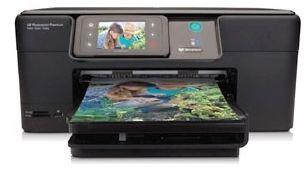The HP Photosmart Premium C309G lives up to its name with high-end features like a color touchscreen and duplex printing.