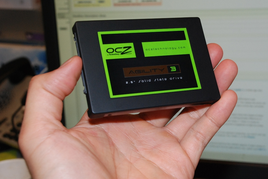 OCZ's new Agility 3 solid-state drive works in any application where a regular SATA hard drive would be used.