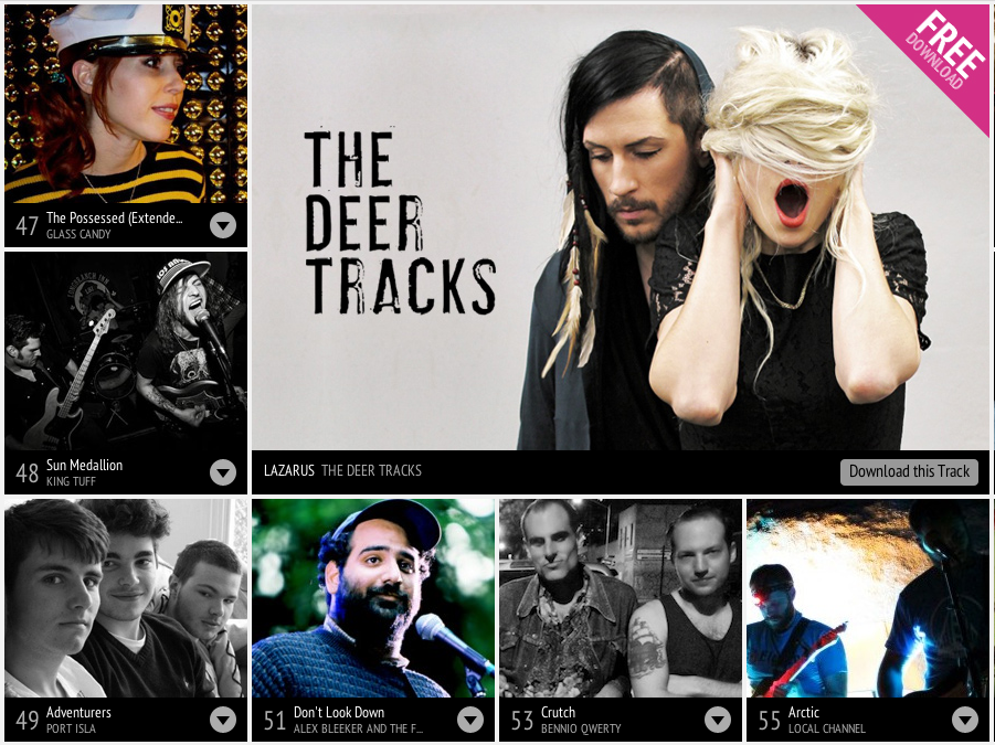 We Are Hunted's streaming music service is coming to a new Twitter app.