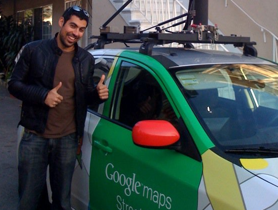 Samy Kamkar, who's trying to figure out what steps Google took to lock down its geolocation API
