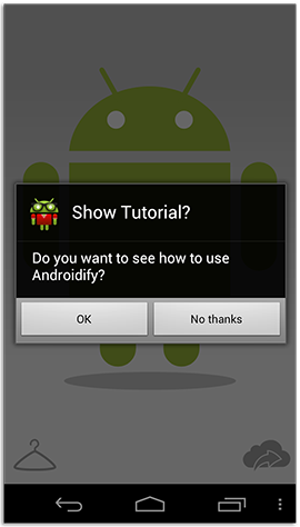 Turn yourself into an Android robot