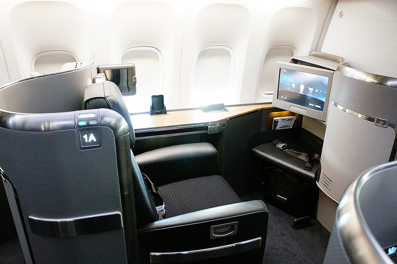 Daytime in first-class