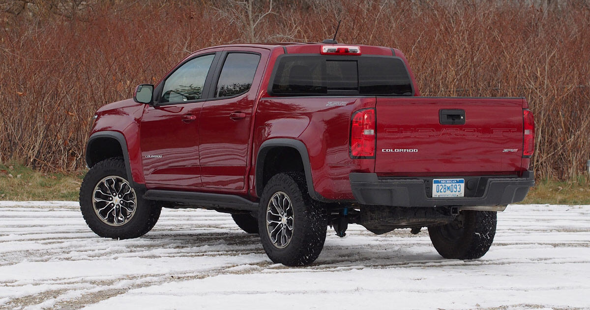 2021 Chevy Colorado Zr2 Review A Rough And Tumble Midsize Truck Roadshow