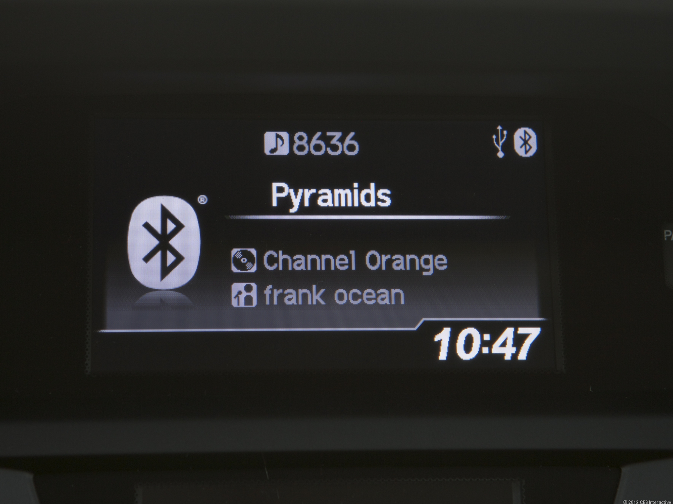 Bluetooth Audio streaming in the Acura ILX