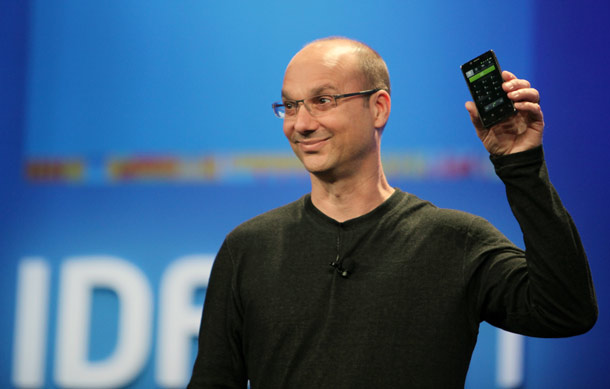 Andy Rubin, Google's senior vice president of mobile, pledged a tight alliance to make Android work well on mobile devices with Intel's x86 chips. He spoke at the Intel Developer Forum.