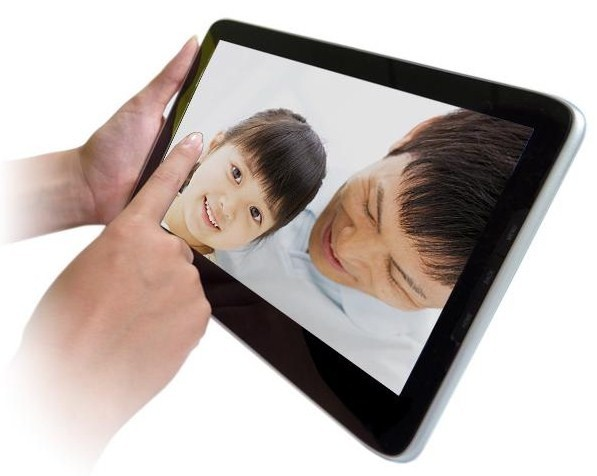 Feel the love? The LuvPad AD100 goes on sale in Japan for about $466.