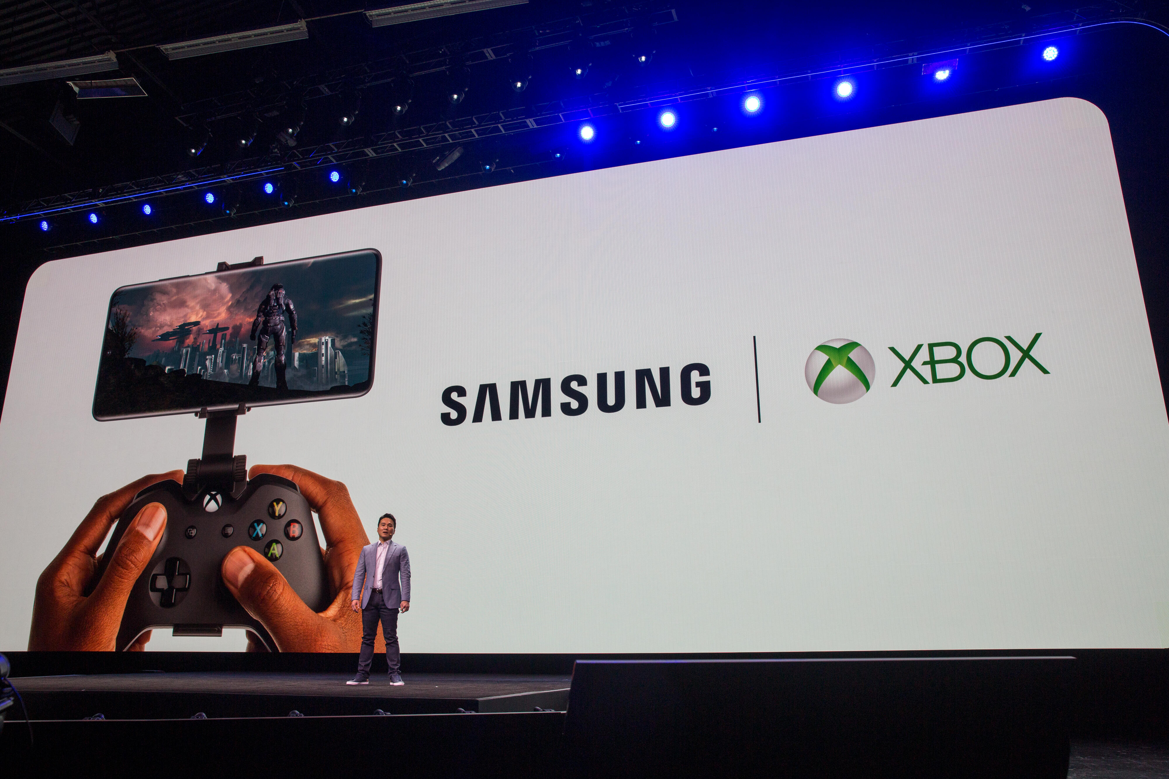 Galaxy S20 and Xbox