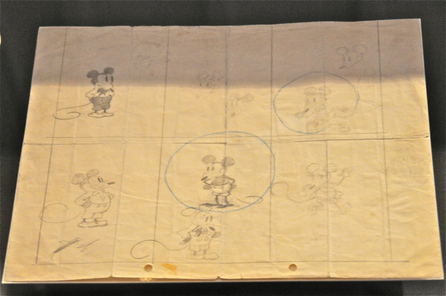 Earliest Mickey Mouse drawing