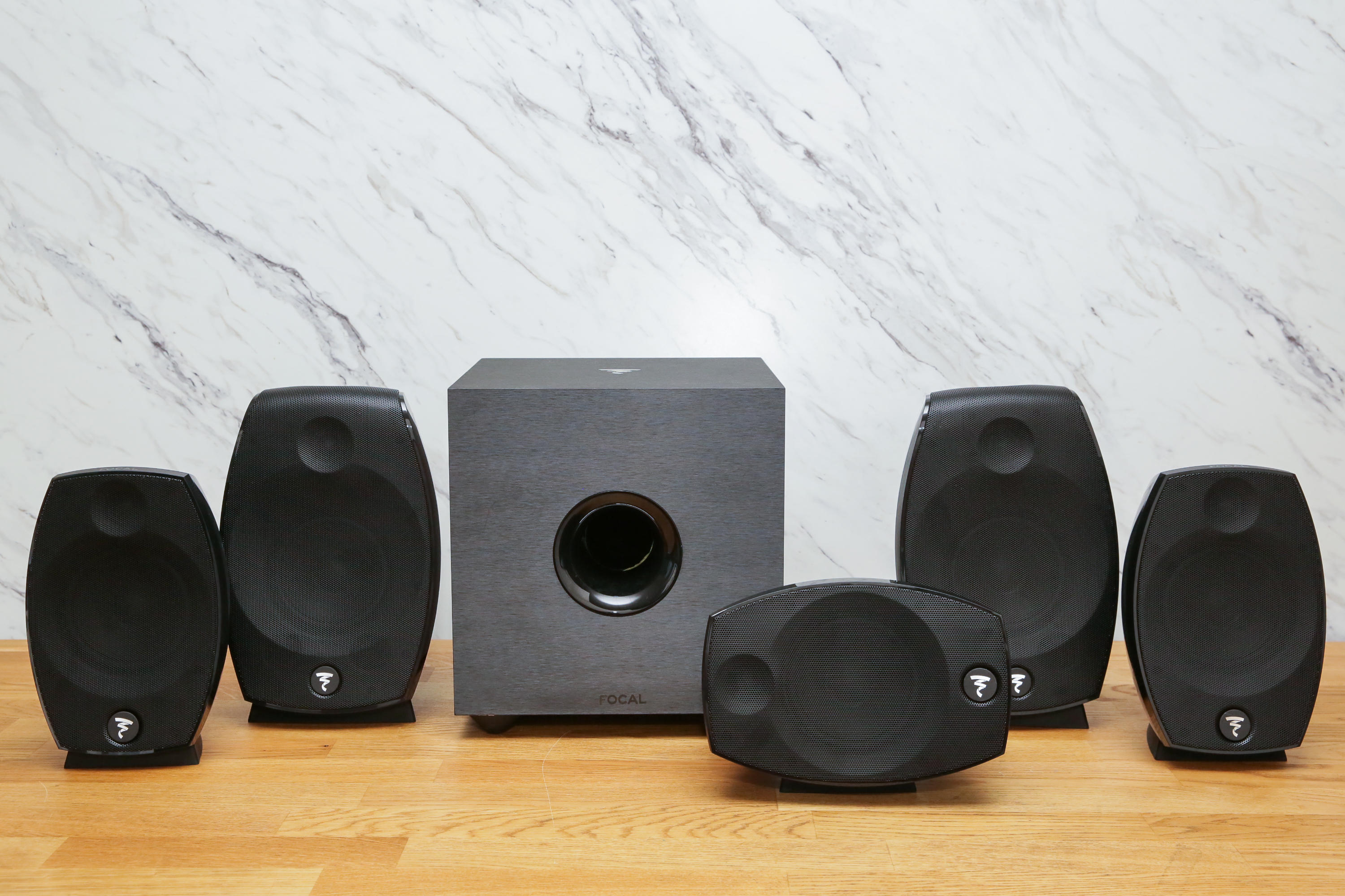 Focal Sib Evo 5.1.2 Atmos speakers