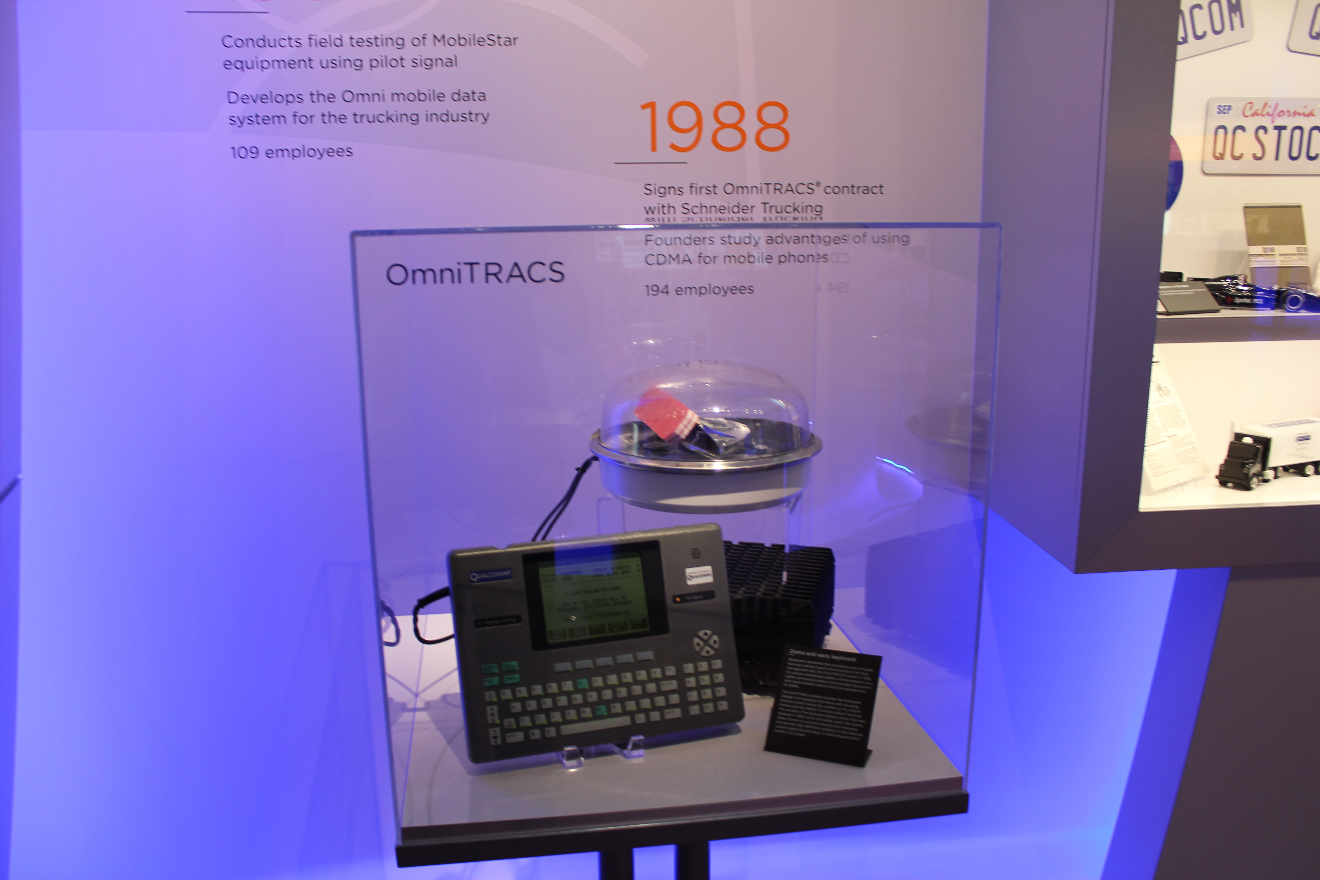 Qualcomm's first business