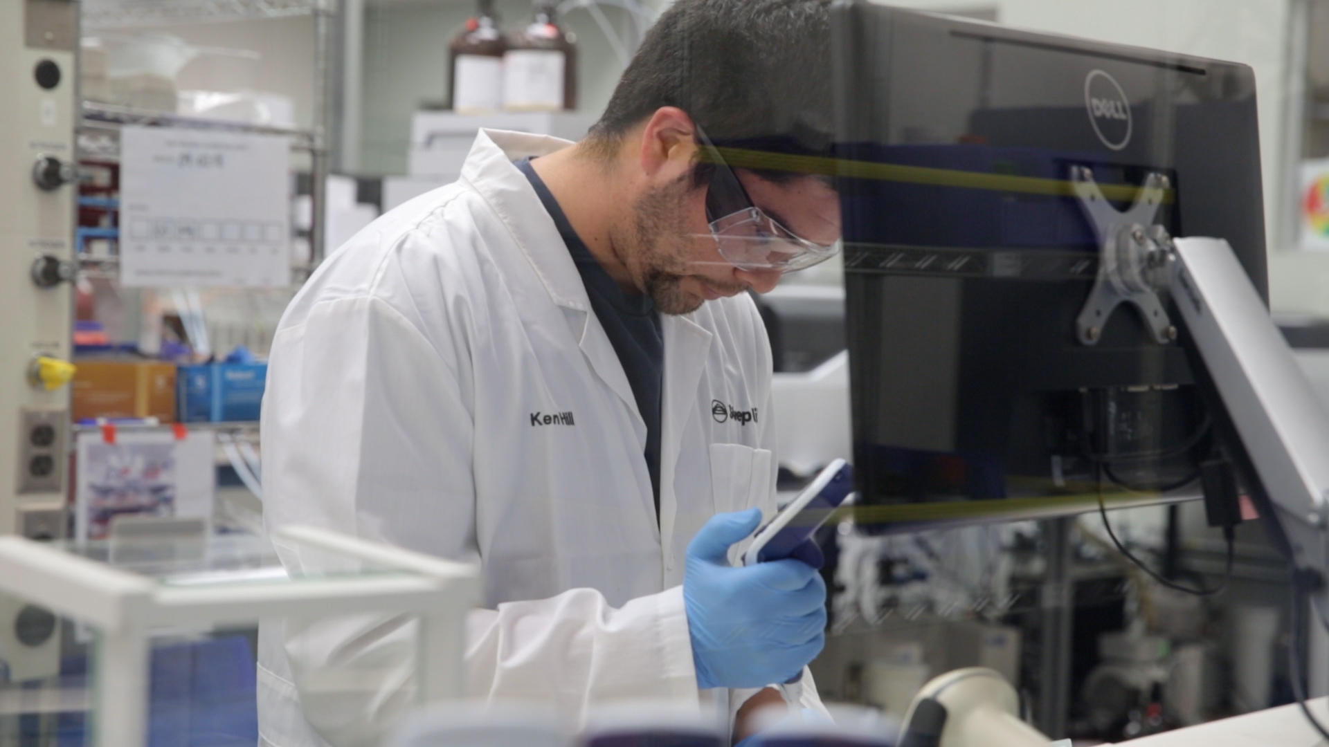 Testing cannabis for purity and potency at Steep Hill Labs in Oakland, California.