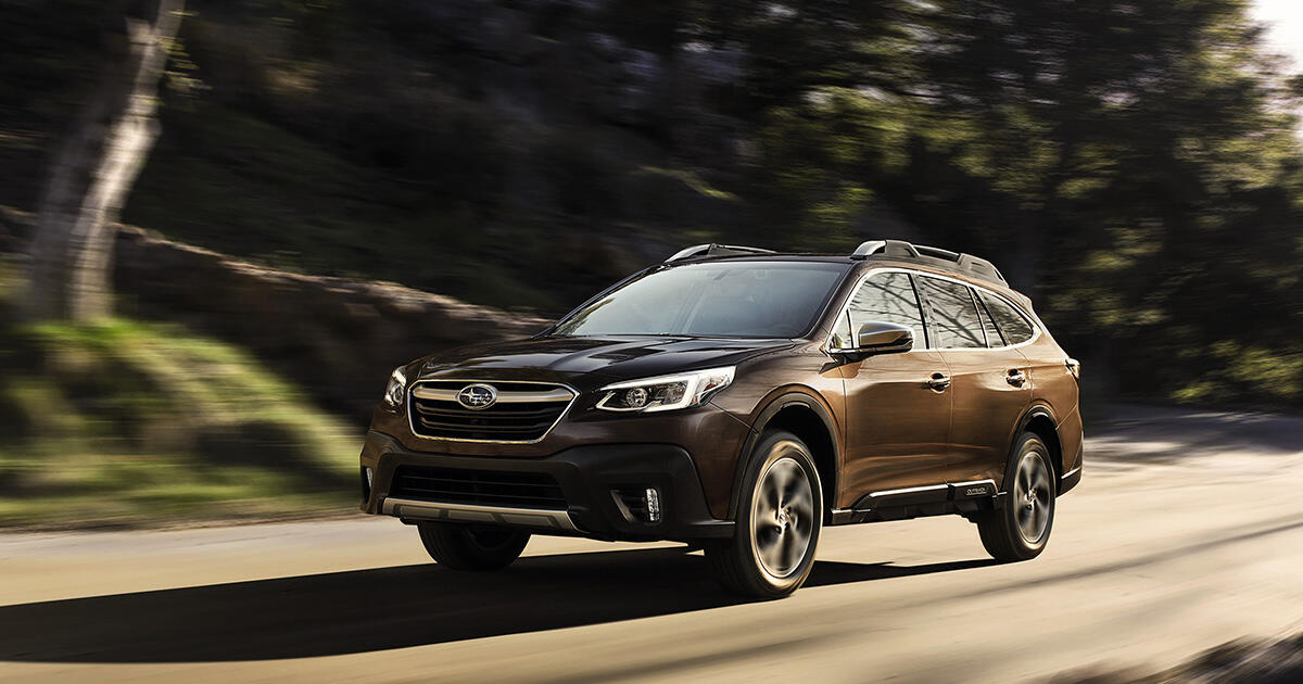 2021 Subaru Outback Legacy Cost A Little More Load Up On More Safety Tech Roadshow
