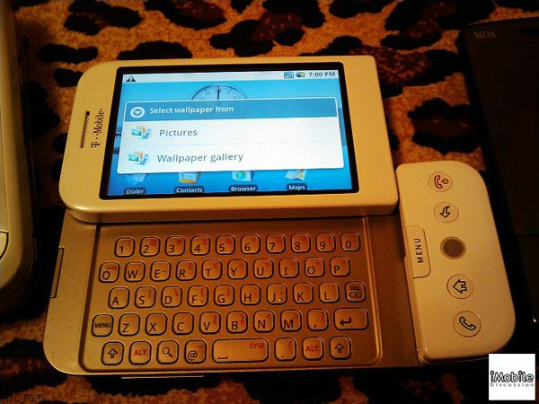 The supposed HTC Dream