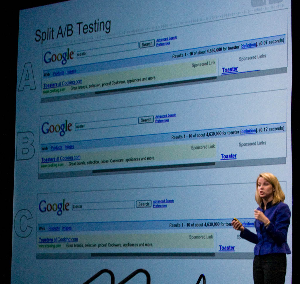Marissa Mayer, vice president of search products and user experience at Google.