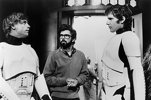 """Mark Hamill thought of co-star Harrison Ford as a mentor on the set of """"Star Wars."""""""