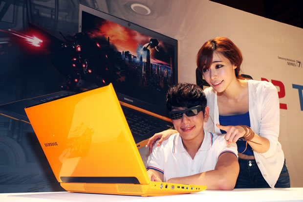 Diving into 3D on Samsung's revamped Gamer 7 laptop.