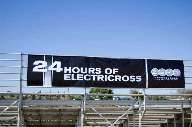 24 hours of electricross sign