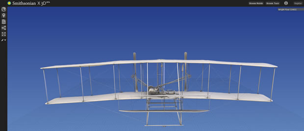 You can now explore the Wright Brothers' first plane in 3D.