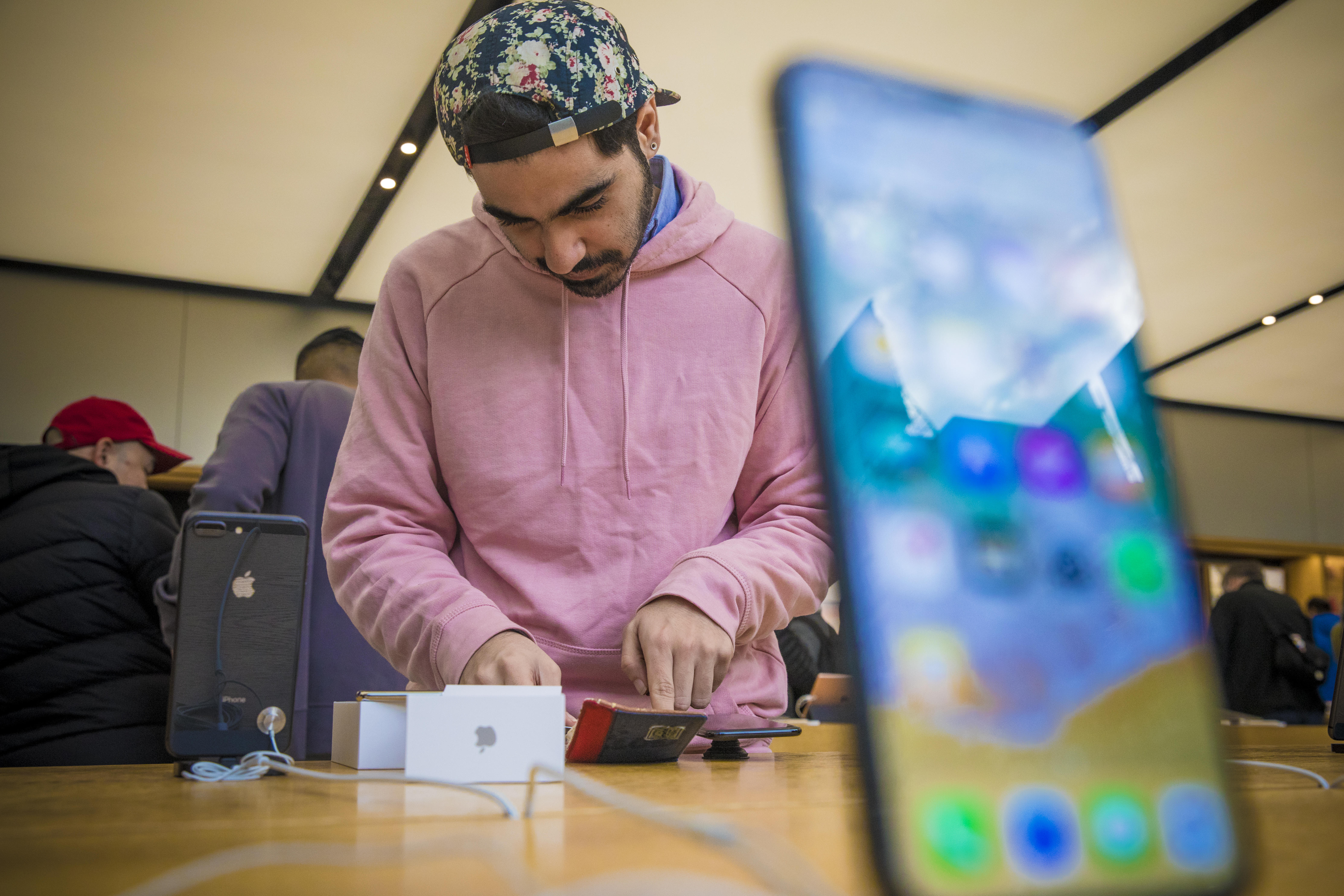 The arrival of Apple's iPhone X was met with the typical late-night preorders and lines outside stores when it was first released, but reports suggest demand has fallen short of the company's expectations.